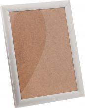 Рамка Нельсон №62 цвет матовый серебро 10х15см